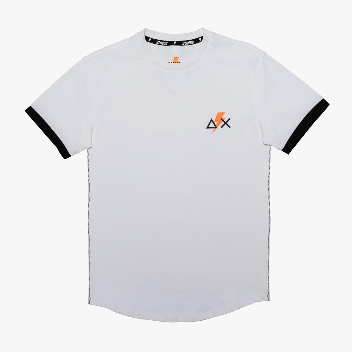 T-SHIRT ROUND NECK S/S WHITE