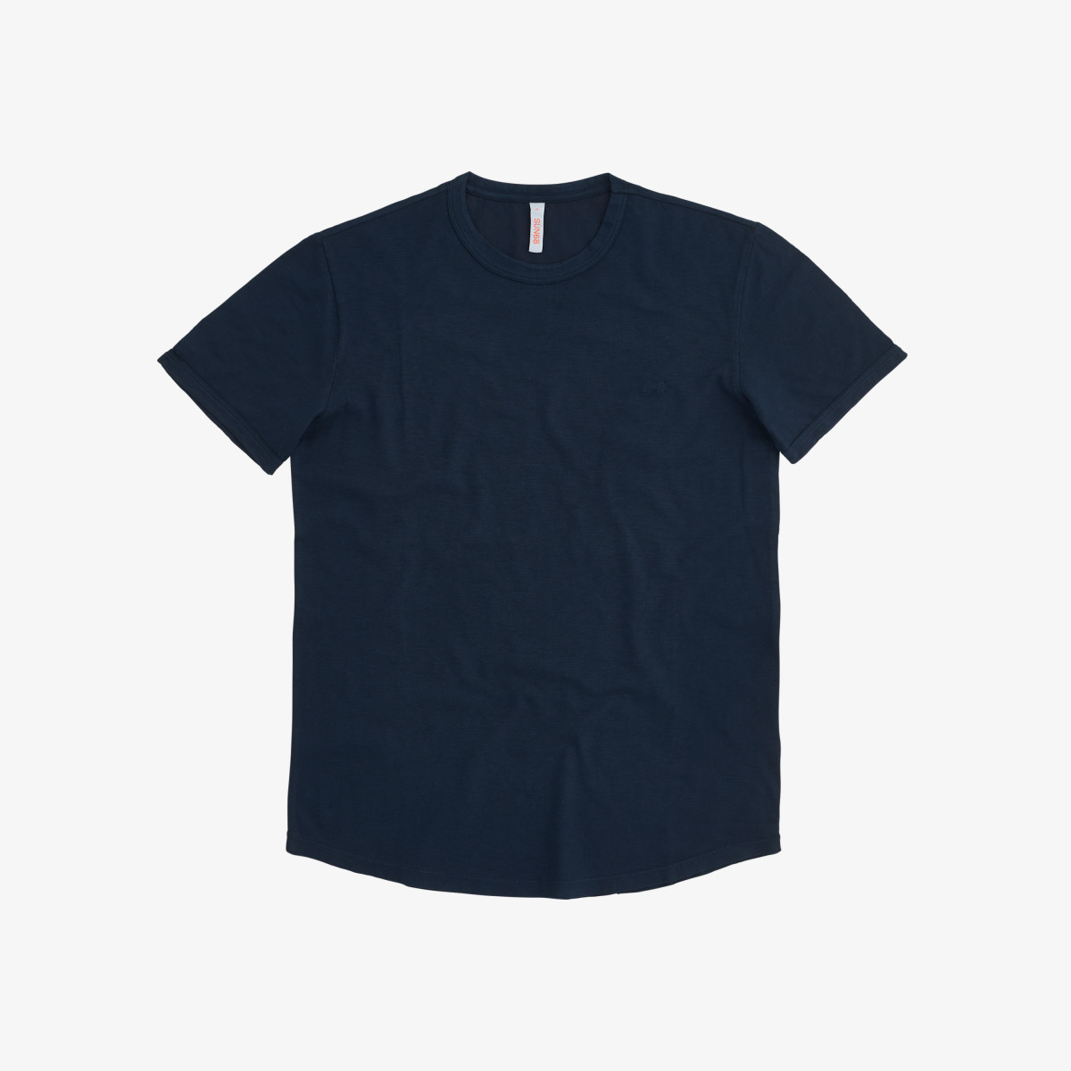 T-SHIRT ROUND BOTTOM NAVY BLUE