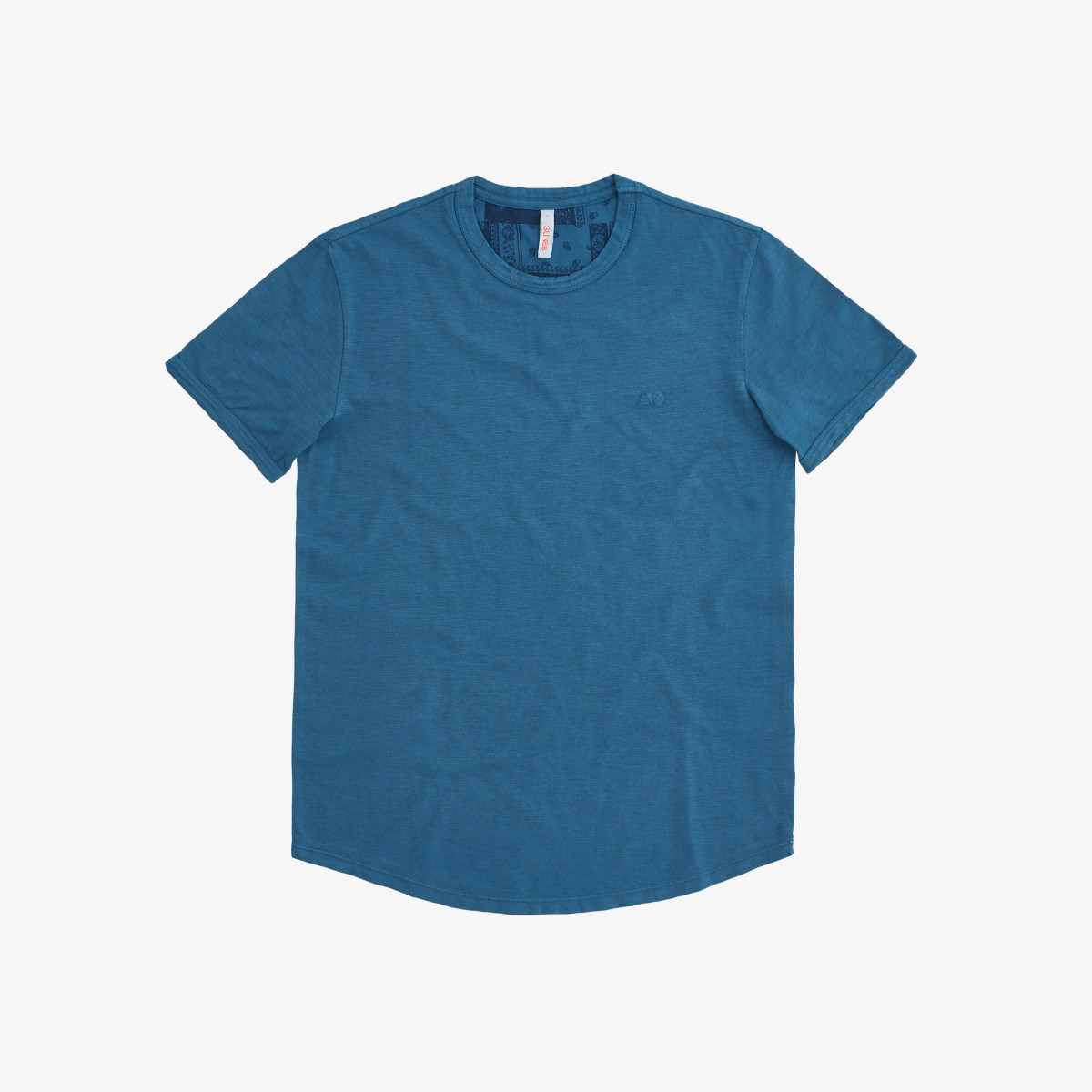 T-SHIRT ROUND BOTTOM DEEP BLUE
