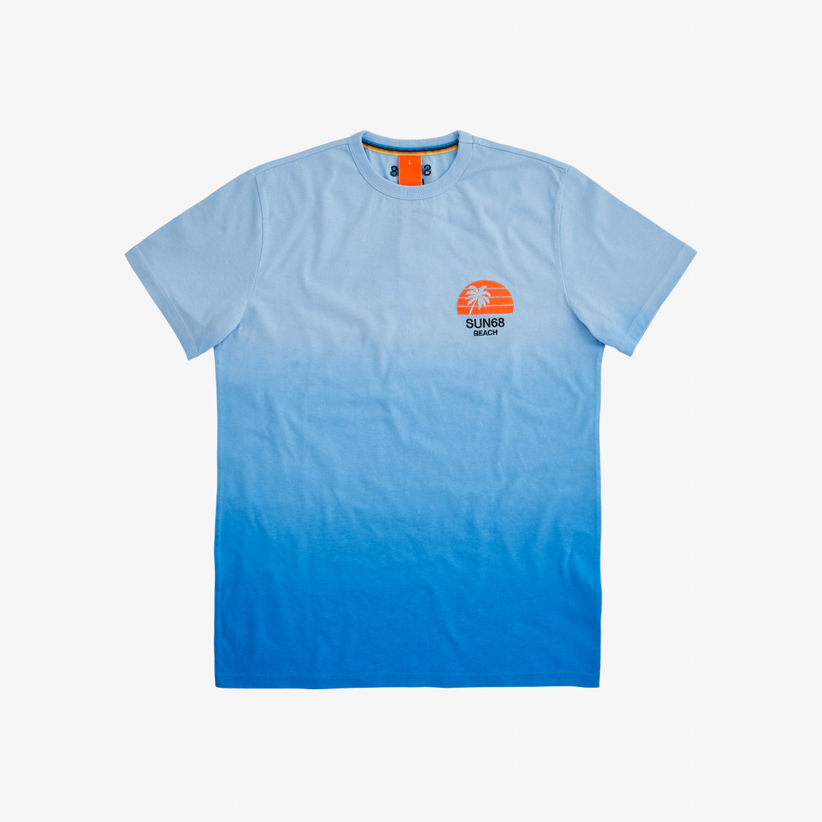 T-SHIRT HANG DYE BLUE