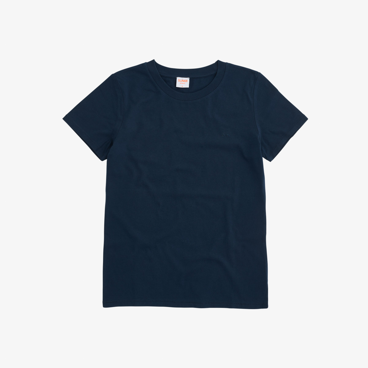ROUND NECK T-SHIRT S/S NAVY BLUE