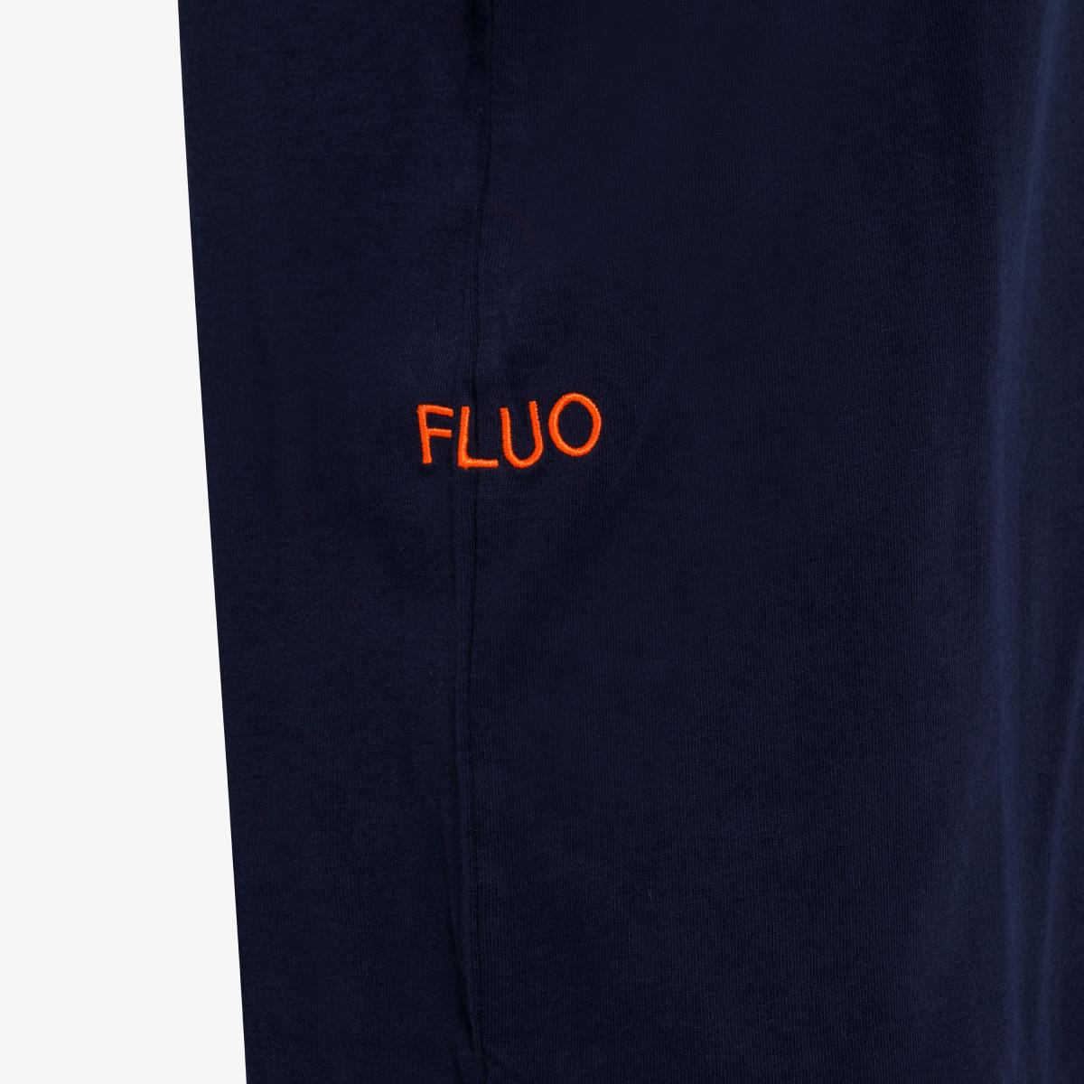 T-SHIRT BIG LOGO FLUO S/S NAVY BLUE