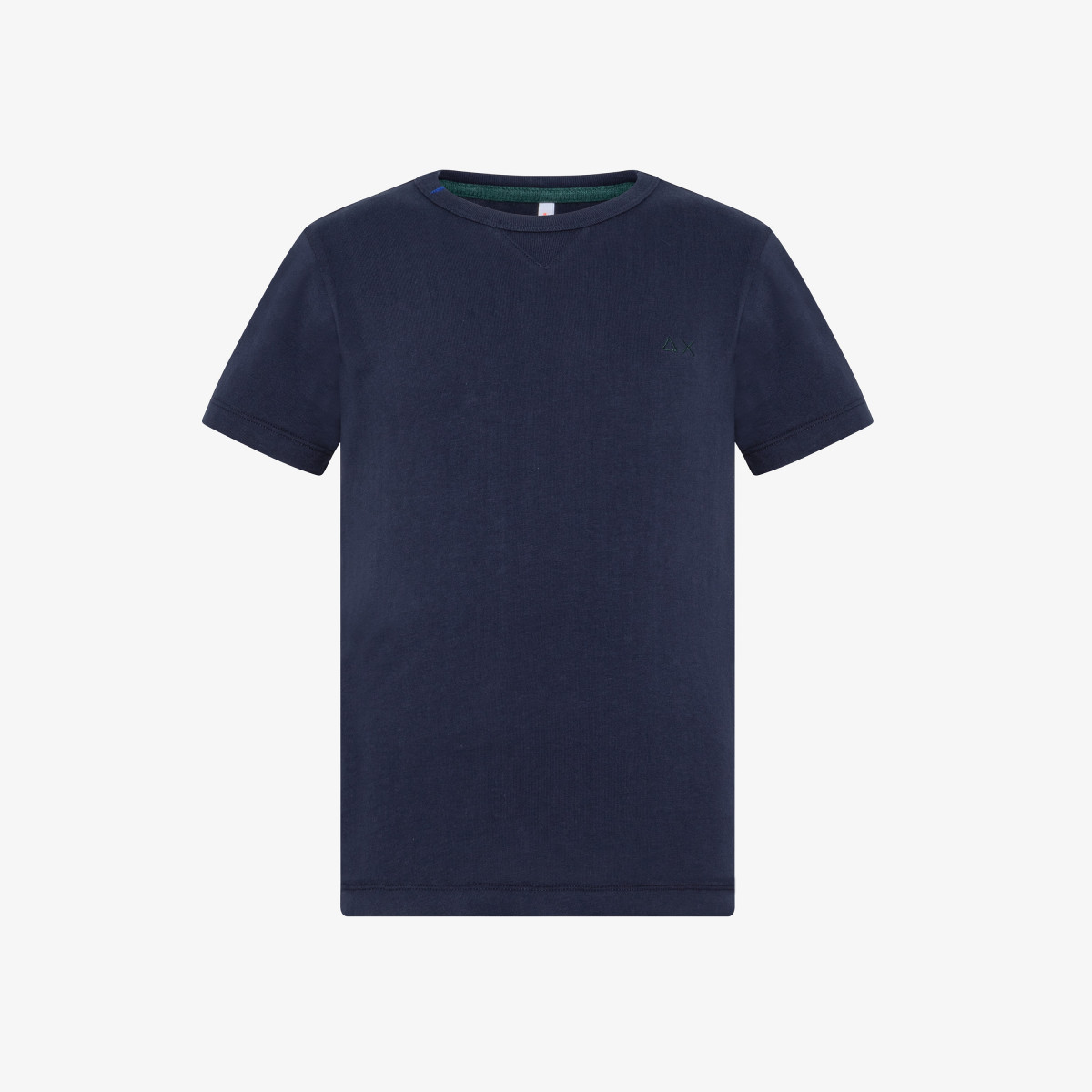 BOY'S ROUND T-SHIRT NIKI S/S NAVY BLUE