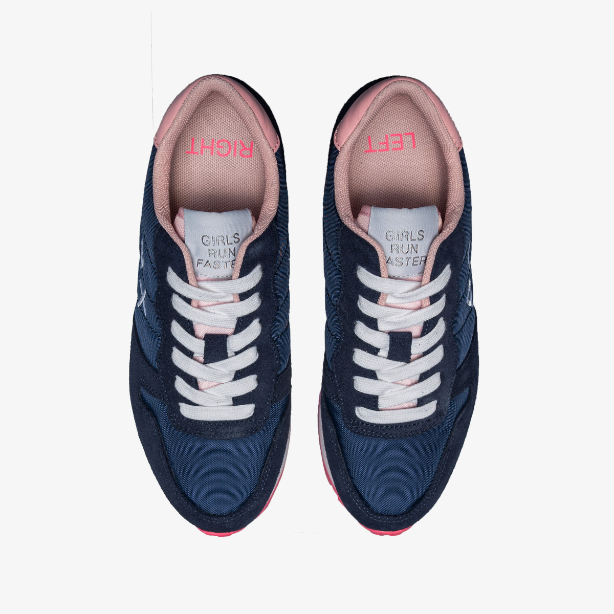 ALLY SOLID NYLON NAVY BLUE
