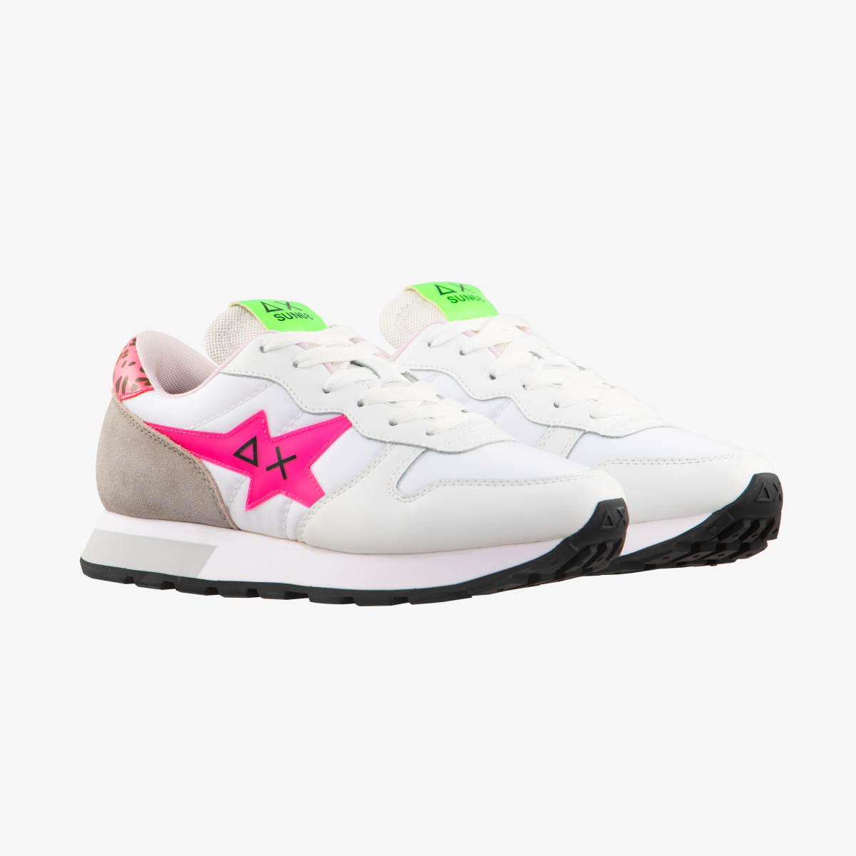 ALLY STAR TRANSPARENT LOGO WHITE/FUXIA FLUO