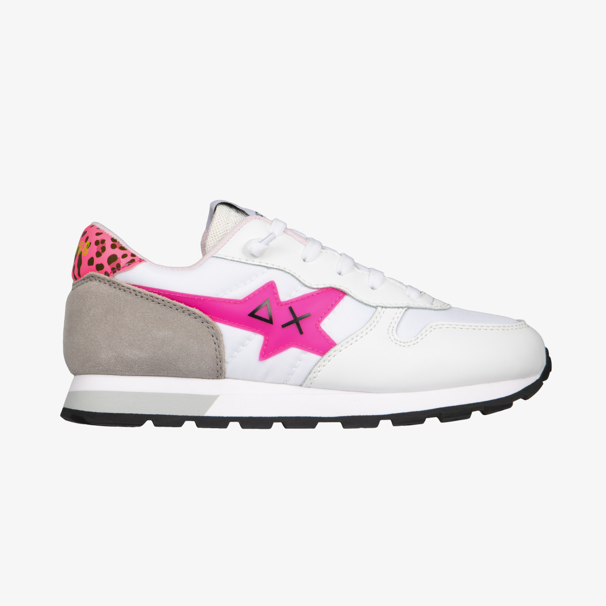 GIRL'S ALLY FLUO WHITE/FUXIA FLUO