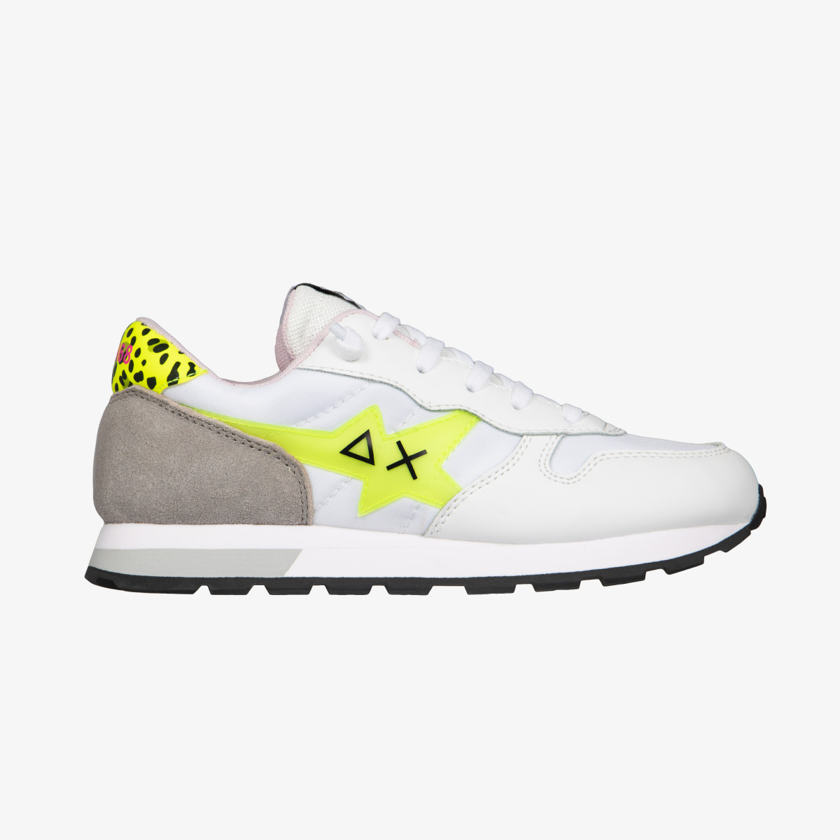 GIRL'S ALLY FLUO WHITE/YELLOW FLUO