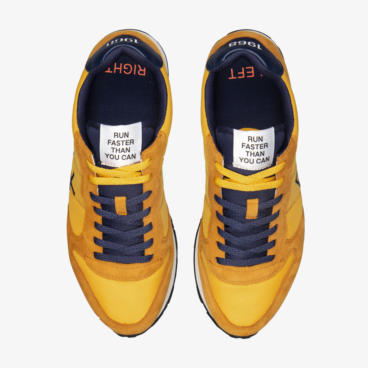 TOM SOLID NYLON YELLOW/NAVY BLUE