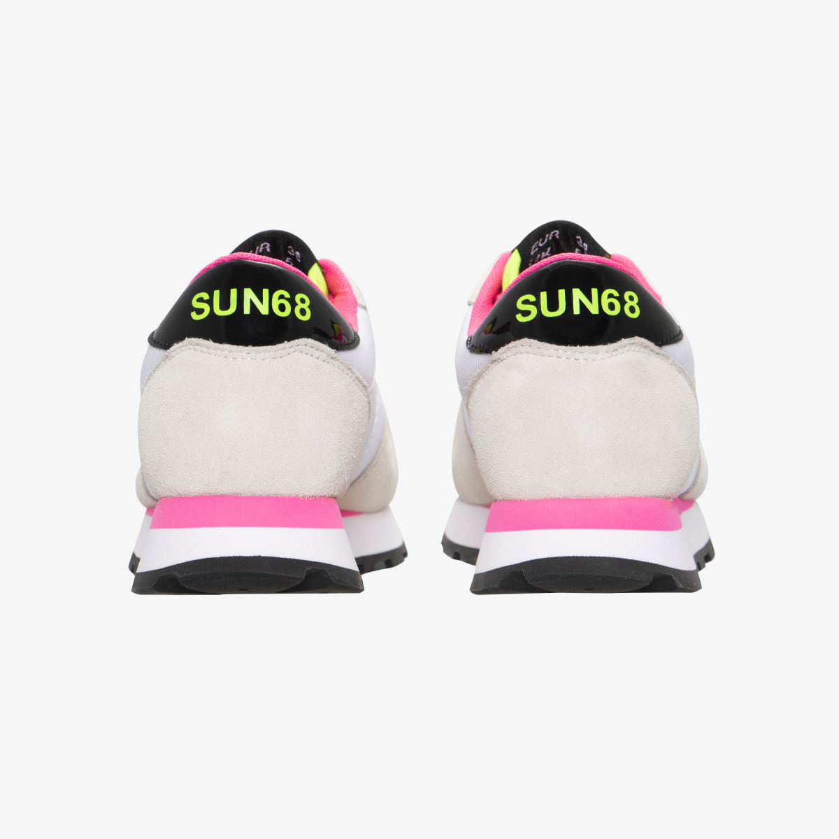 ALLY SOLID WHITE/YELLOW FLUO