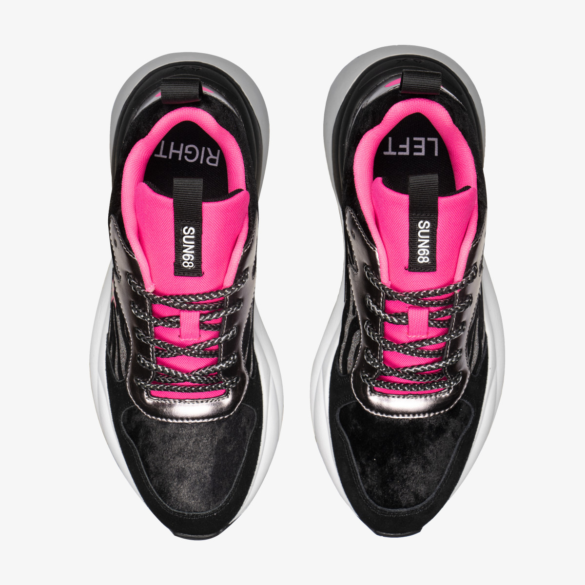 MEGAN ANIMAL BLACK/FUXIA