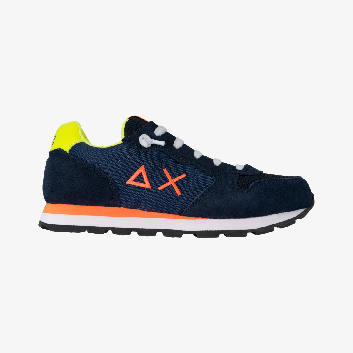 BOY'S TOM FLUO NAVY BLUE