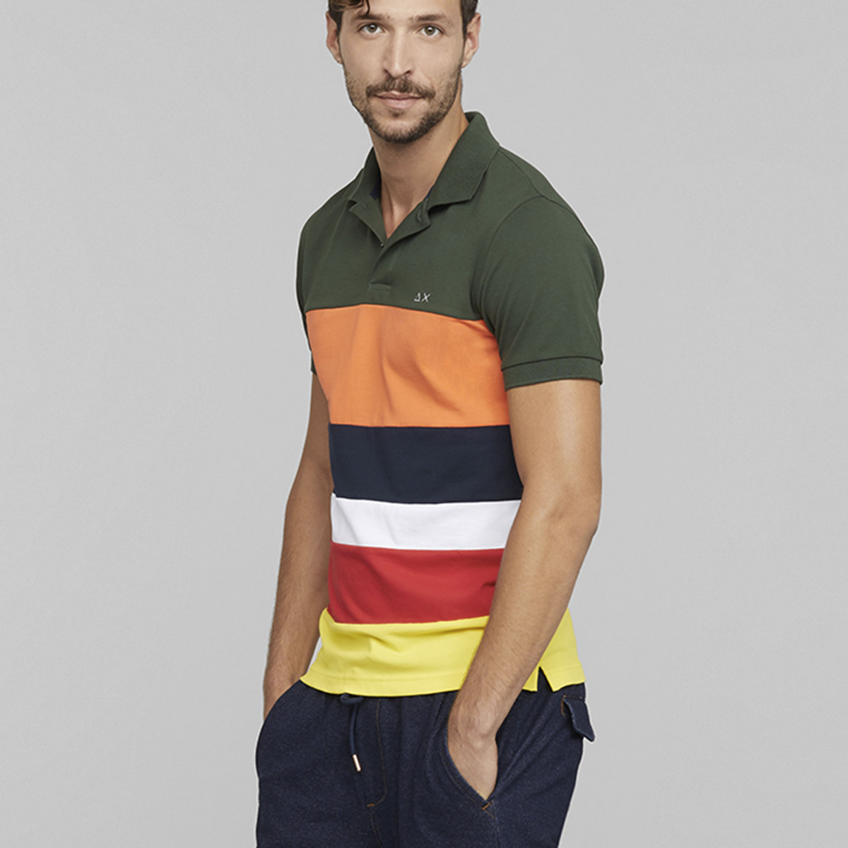 POLO FULL STRIPES EL.
