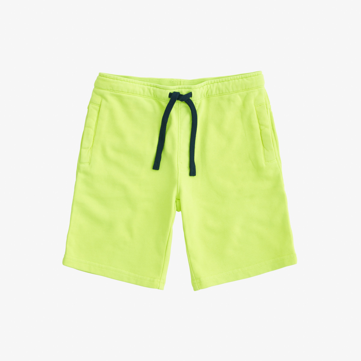 PANT SHORT COLD DYE COTT. FL. YELLOW FLUO