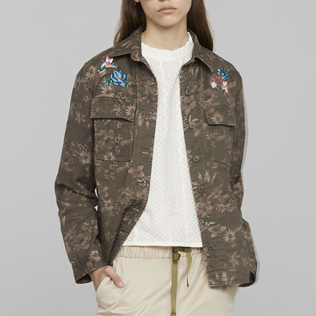 FIELD JACKET MILITARE SCURO