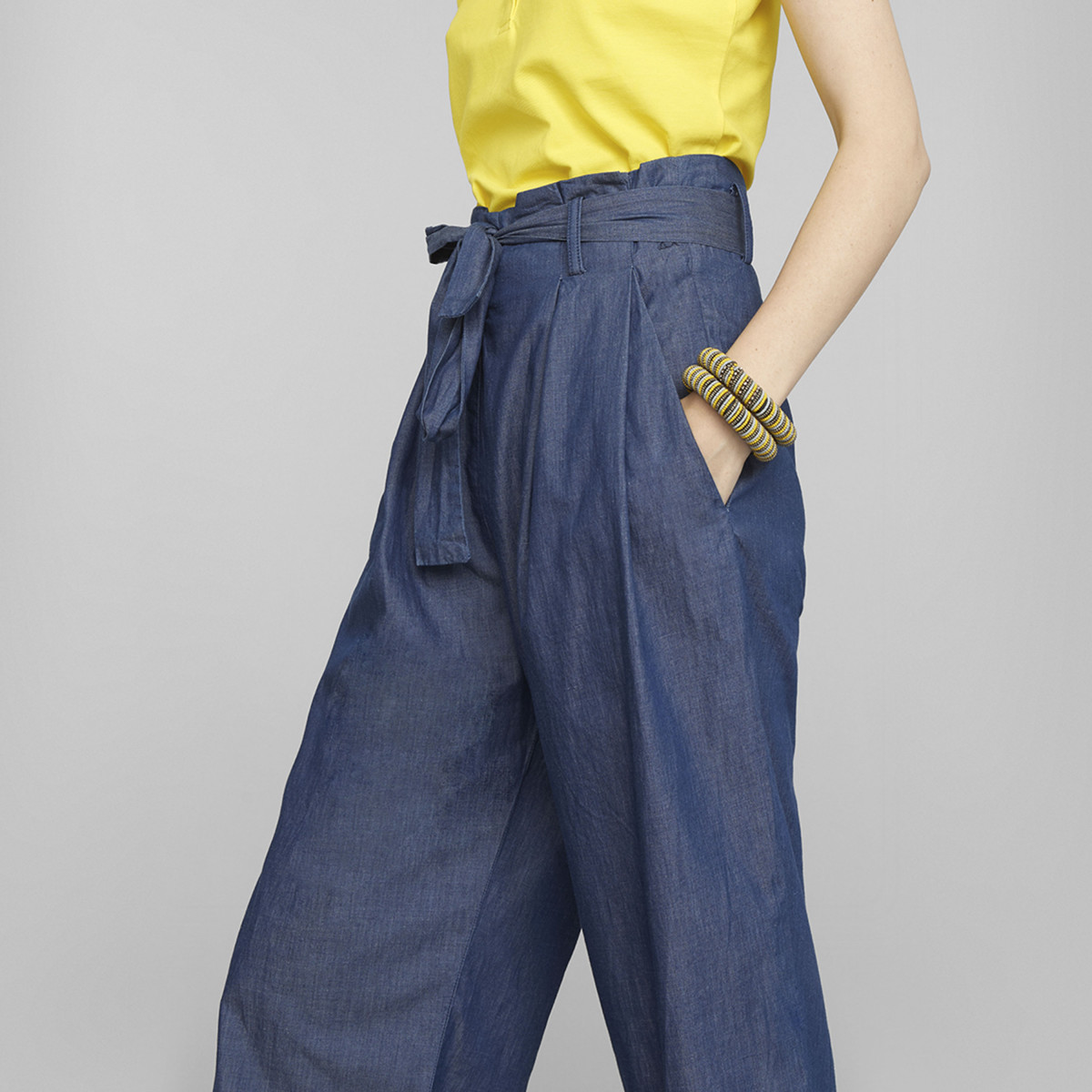 CUT PANT DENIM