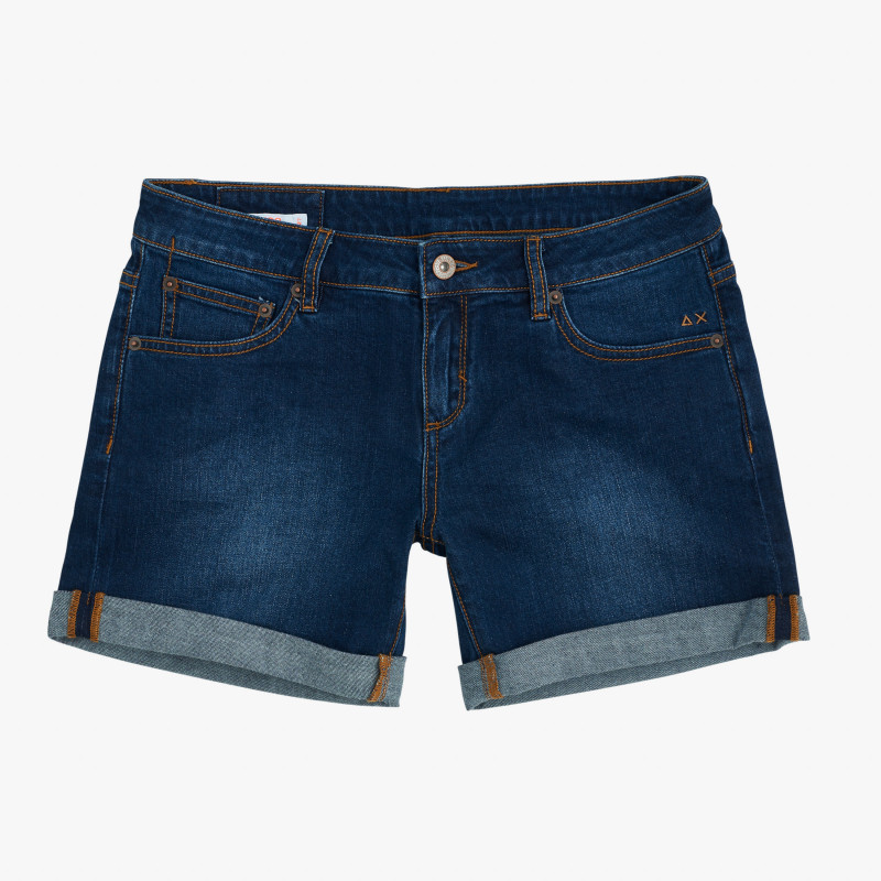 SHORT DENIM NAVY BLUE