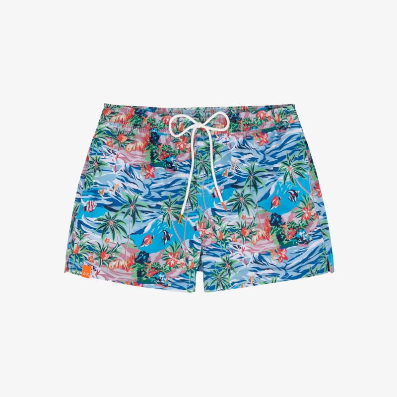 SWIM PANT MICRO HAWAII BLUE