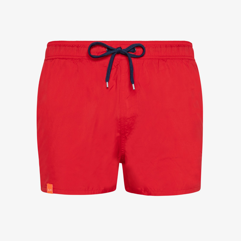 SWIM PANT WATER PRINT RED