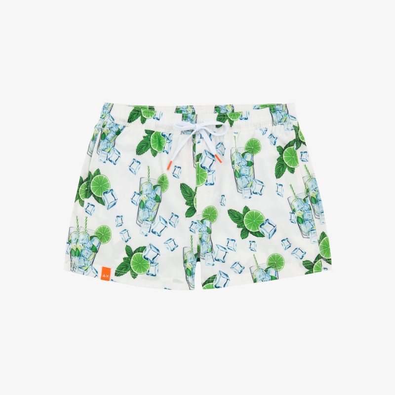 SWIM PANT FOOD OFF WHITE