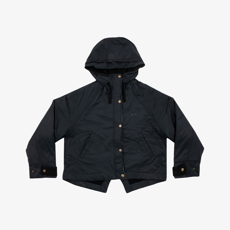 RAIN JACKET SOLID BLACK