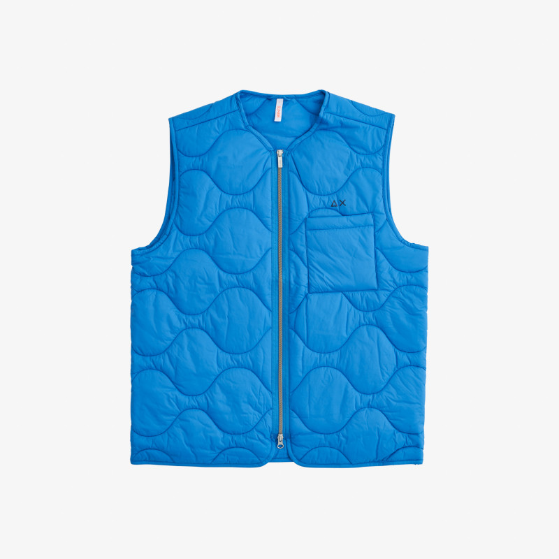 RAIN JACKET NO SLV BLUE