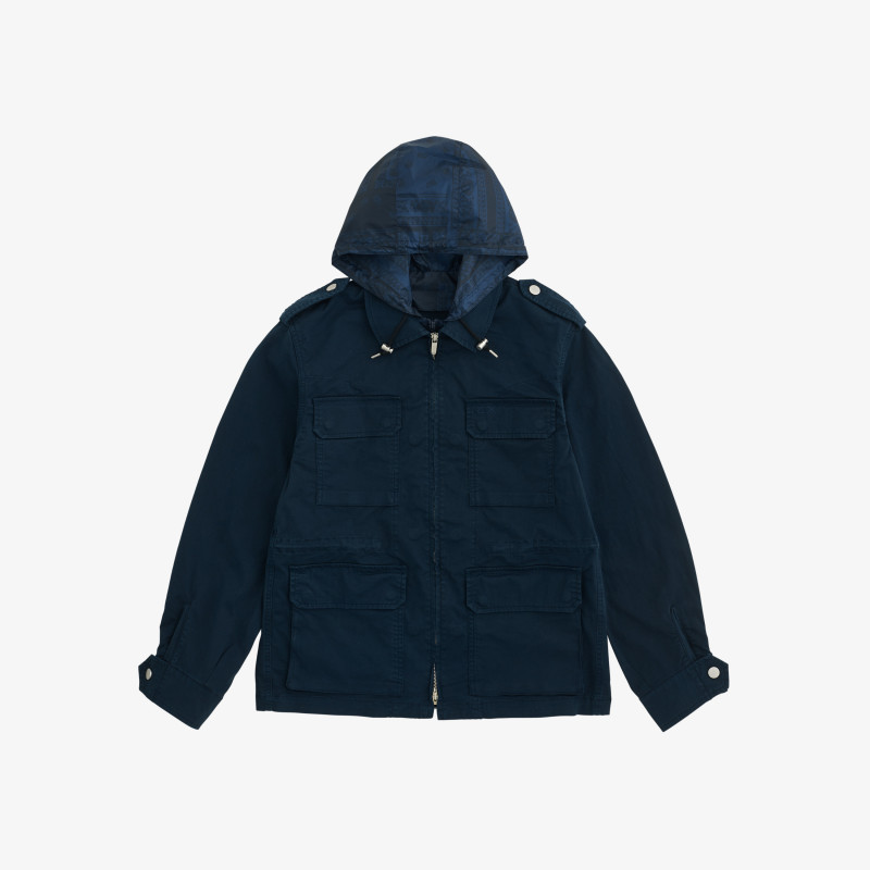FIELD JACKET NAVY BLUE