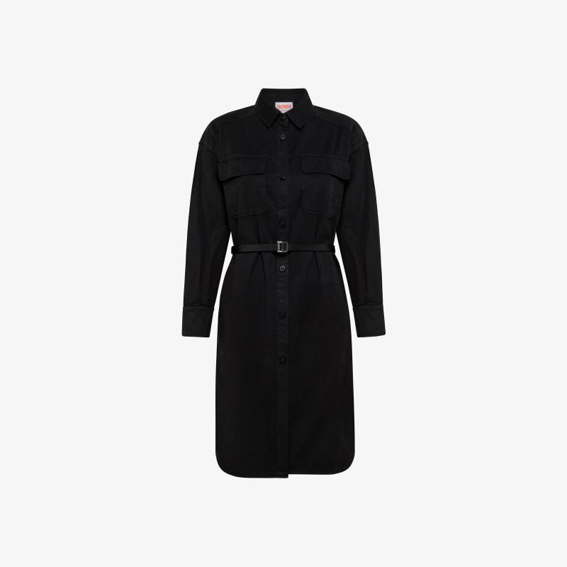 DRESS BELT L/S BLACK