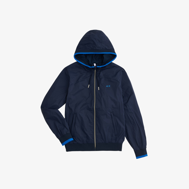 RAIN JACKET HERITAGE NAVY BLUE